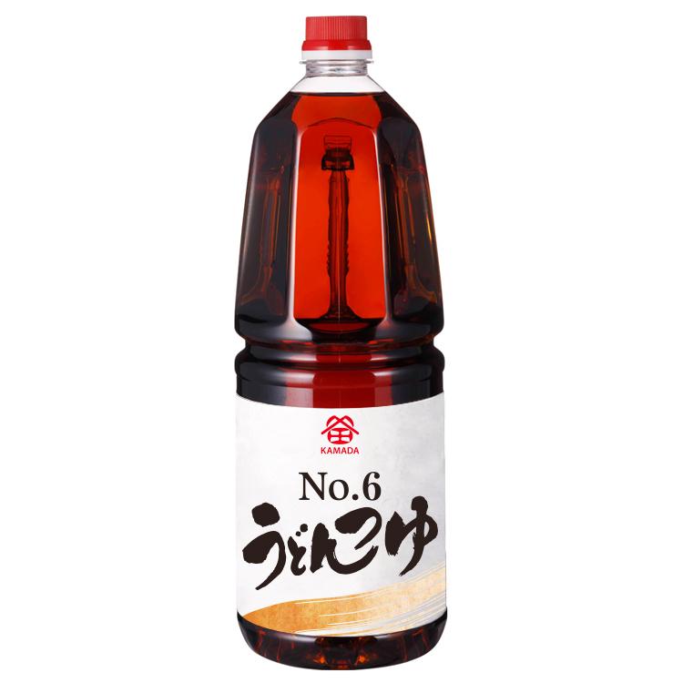 No.6うどんつゆ 1.8ℓ手付